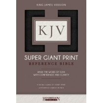 KJV Super Giant Print Bible by Hendrickson Bibles, 9781619709690