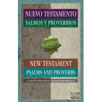 Spanish/English New Testament with Psalms & Proverbs-PR-NIV/NVI by Zondervan, 9781623370800