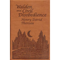 Walden and Civil Disobedience by Henry David Thoreau, 9781626860636