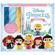 Disney Princess Crochet by Jessica Ward, 9781626864443