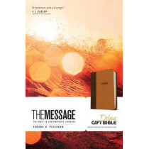 Message Deluxe Gift Bible, Black by Eugene H. Peterson, 9781631465789