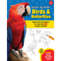 Learn to Draw Birds & Butterflies: Step-by-step instructions for more than 25 winged creatures by Robbin Cuddy, 9781633220645