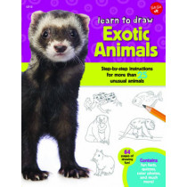 Learn to Draw Exotic Animals: Step-by-step instructions for more than 25 unusual animals by Robbin Cuddy, 9781633220652