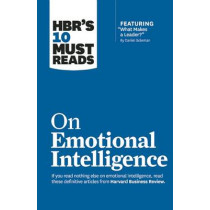 """HBR's 10 Must Reads on Emotional Intelligence (with featured article """"What Makes a Leader?"""" by Daniel Goleman)(HBR's 10 Must Reads) by Daniel Goleman, 9781633690196"""