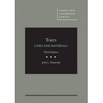 Cases and Materials on Torts - CasebookPlus by John Diamond, 9781634608916