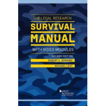 The Legal Research Survival Manual with Video Modules by Robert Berring, 9781683284659