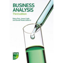 Business Analysis by James Cadle, 9781780172774