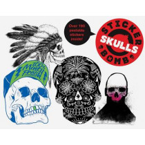 Stickerbomb Skulls by SRK, 9781780671833