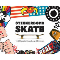 Stickerbomb Skate: 150 Classic Skateboard Stickers, 9781780674124