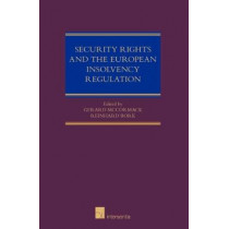 Security Rights and the European Insolvency Regulation by Gerard McCormack, 9781780683171