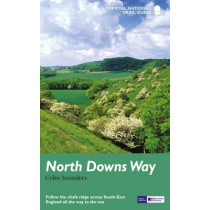 North Downs Way: National Trail Guide by Colin Saunders, 9781781315002