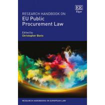 Research Handbook on EU Public Procurement Law by Christopher Bovis, 9781781953259
