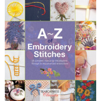 A-Z of Embroidery Stitches: A Complete Manual for the Beginner Through to the Advanced Embroiderer by Country Bumpkin Publications, 9781782211617