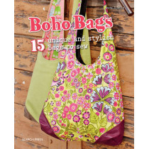 Boho Bags: 15 Unique and Stylish Bags to Sew by Beate Schmitz, 9781782212355