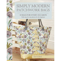 Simply Modern Patchwork Bags: 10 Bags for Every Occasion by Janet Goddard, 9781782213192