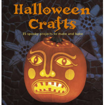 Halloween Crafts: 35 Spooky Projects to Make and Bake by Emma Hardy, 9781782490333