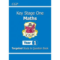 KS1 Maths Targeted Study & Question Book - Year 1 by CGP Books, 9781782941354
