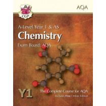 A-Level Chemistry for AQA: Year 1 & AS Student Book with Online Edition by CGP Books, 9781782943211