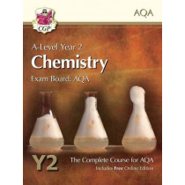 A-Level Chemistry for AQA: Year 2 Student Book with Online Edition by CGP Books, 9781782943266