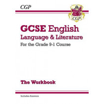 GCSE English Language and Literature Workbook - for the Grade 9-1 Courses (includes Answers) by CGP Books, 9781782943679