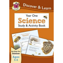 KS1 Discover & Learn: Science - Study & Activity Book, Year 1 by CGP Books, 9781782944768
