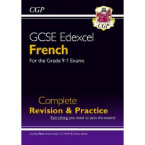 GCSE French Edexcel complete revision & practice with audio-CD, 9781782945420