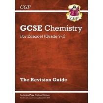 New Grade 9-1 GCSE Chemistry: Edexcel Revision Guide with Online Edition by CGP Books, 9781782945727