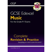 GCSE Music Edexcel Complete Revision & Practice (with Audio CD) - for the Grade 9-1 Course by CGP Books, 9781782946151