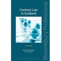 Contract Law in Scotland by Hector MacQueen, 9781784513160
