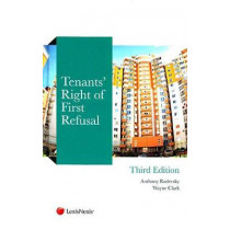 Tenants' Right of First Refusal by Anthony Radevsky, 9781784732677