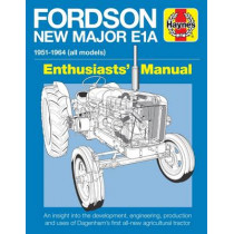Fordson Major E1A Enthusiasts' Manual: 1951-1964 (all models) by Pat Ware, 9781785211256