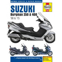 Suzuki Burgman 250 & 400 (98 - 15) by Phil Mather, 9781785212857