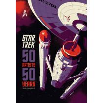 Star Trek: 50 Artists 50 Years by Titan Books, 9781785651168