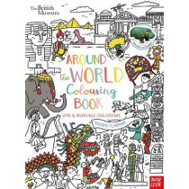 British Museum: Around the World Colouring Book by Thomas Flintham, 9781788000000
