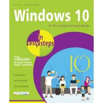 Windows 10 in easy steps by Nick Vandome, 9781840786439