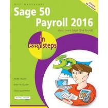 Sage 50 Payroll 2016 in Easy Steps by Bill Mantovani, 9781840787177