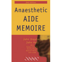 Anaesthetic Aide Memoire by John Urquhart, 9781841101927