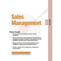 Sales Management: Marketing 04.10 by Patrick Forsyth, 9781841121932