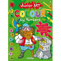 Junior Art Colour By Numbers: Lion by Angela Hewitt, 9781841358574