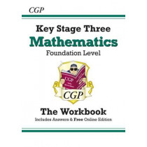 KS3 Maths Workbook (with Answers) - Foundation by CGP Books, 9781841460482