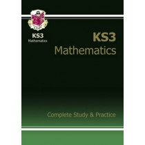 New KS3 Maths Complete Study & Practice (with Online Edition) by CGP Books, 9781841463834