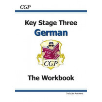 KS3 German Workbook with Answers by CGP Books, 9781841468495
