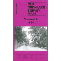 Greenwich 1894: London Sheet 092.2 by Alan Godfrey, 9781841514048