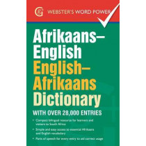Afrikaans-English, English-Afrikaans Dictionary: With Over 28,000 Entries by Alet Kruger, 9781842058008