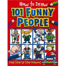 How to Draw 101 Funny People by Dan Green, 9781842297391