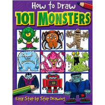 How to Draw 101 Monsters by Dan Green, 9781842297421