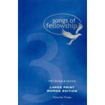 Songs of Fellowship: Bk.3: Words, 9781842911372