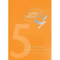 Songs of Fellowship: v. 5, 9781842914526