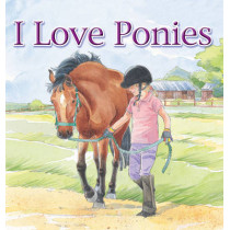 I Love Ponies by Brenda Aspley, 9781843225652