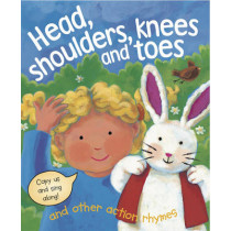 Head, Shoulders, Knees and Toes and Other Action Rhymes by Nicola Baxter, 9781843228295
